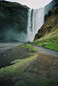 Waterfalls Near Vik Iceland