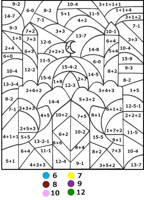 Color Numbers Math Color Number Math Worksheets Grade Images Multiplication Worksheets Grade 4