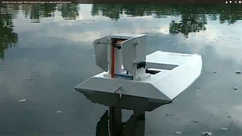 Homemade Rc Boats Designs by Electric Rc Airboat Plans Guide Plan For Boat