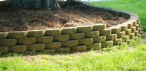 How to Build a Stackable Block Retaining Wall Today's