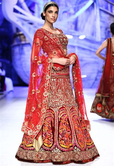 designer bridal lehenga   modern indian brides