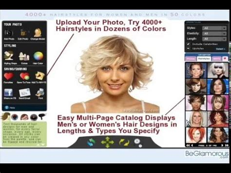 virtual hairstyles upload  photo change