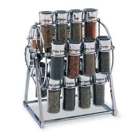 Filled Spice Rack Cheap by Olde Thompson 25645c Spice Rack Ferris Wheel Holds 20