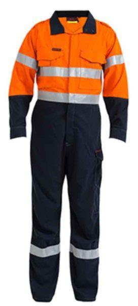 celana bahan sleting berkualitas wearpack safety orange biru kanvas drill konveksi