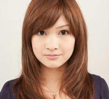 face medium long asian hairstyle makeup