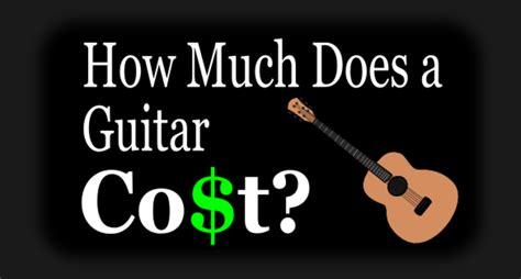 guitar much cost does beginner gear
