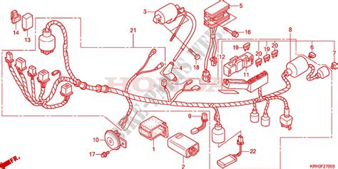 Honda Xr 125 L Wiring Diagram by Wire Harness For Honda Xr 125 L Electric Start 2006