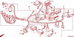 Wire Harness For Honda Xr 125 L Electric Start 2003