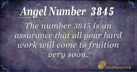 Angel Number 3845 Meaning: Elevate Your Life Daily ...