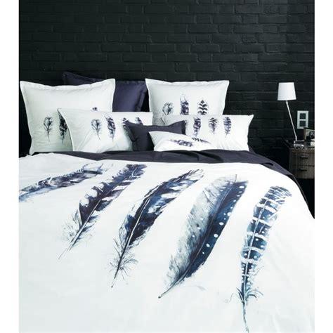 parure de lit imprimee sepia nouveautes carre blanc parure de lit