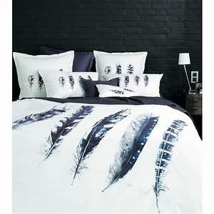Plaid Noir Et Blanc : parure de lit imprimee sepia nouveautes carre blanc ~ Dailycaller-alerts.com Idées de Décoration