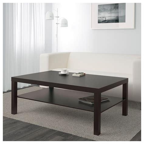 Lack Coffee Table Blackbrown 118 X 78 Cm Ikea