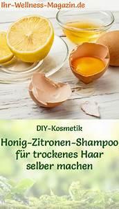 Anti Schling Napf Selber Machen : shampoo selber machen rezept honig zitronen shampoo f r trockenes haar ~ Orissabook.com Haus und Dekorationen