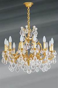 Lustre Pampilles Cristal : lustre pampilles ~ Teatrodelosmanantiales.com Idées de Décoration