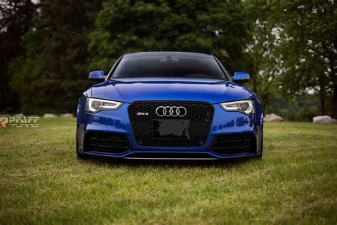 audi modified custom audi rs5 in sepang blue is sheer beauty autoevolution