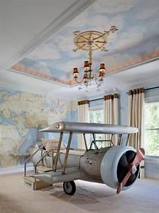 Original, Aviation, Inspired, Boys, Bedroom, Design