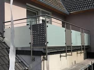 Edelstahl Sichtschutz Metall : montagebau marc zettl lochblech glas ~ Orissabook.com Haus und Dekorationen