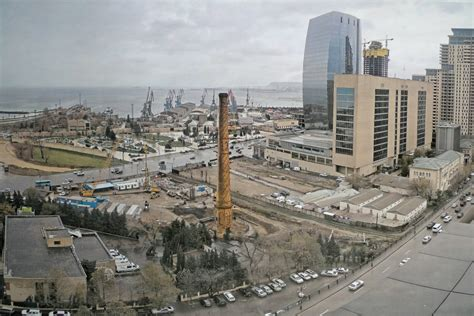 There are three major divisions in baku: Historic chimney saved in Baku