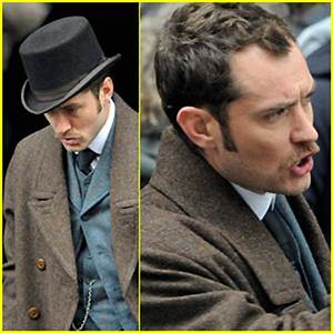 Jude Law is Dr. John Watson | Jude Law : Just Jared