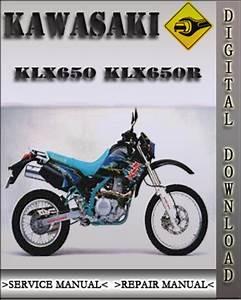 1993 Kawasaki Klx650 Klx650r Factory Service Repair Manual
