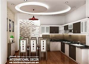 False ceiling pop design for modern kitchen for Pop design for kitchen ceiling