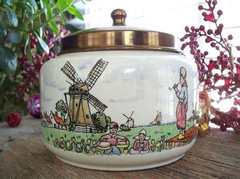 vintage royal dutch pottery goedewaagen gouda holland