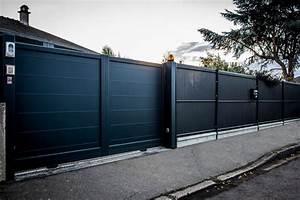 Cloture En Pvc : cl ture et palissades en aluminium bois et acier liffr ~ Melissatoandfro.com Idées de Décoration