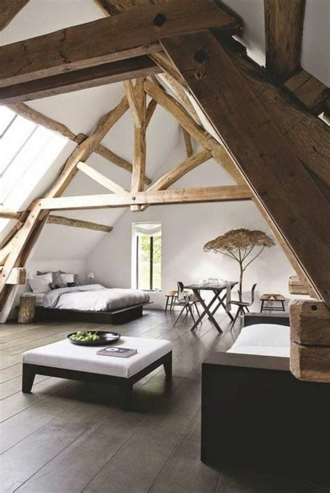 chambre avec poutre la poutre en bois dans 50 photos magnifiques poutre en