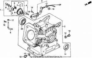 Honda Ex2200 A Generator  Jpn  Vin  Ea2