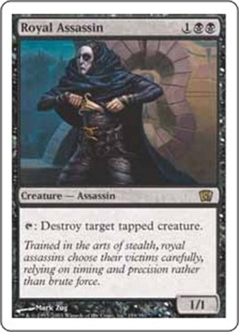 Mtg Assassin Deck List by Royal Assassin Magic The Gathering Wiki Fandom