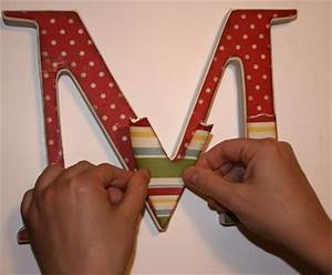 Make your own personalized wooden letter for an adorable for Making wooden letters