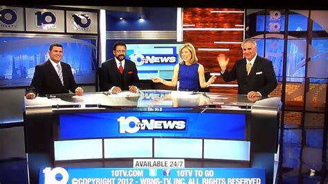 Find the latest breaking news and information on the top stories, weather, business, entertainment, politics, and more. WBNS-TV: 10TV News 6PM closing (2012) - YouTube