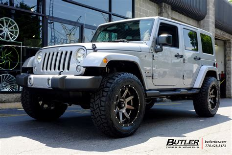jeep wrangler   fuel rampage wheels exclusively