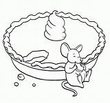 Pie Coloring Pages Pumpkin Printable Apple Fancy Nancy Thanksgiving Mouse Eating Stirring Creature Even Sheets Slice Getcolorings Popular Print Clip sketch template