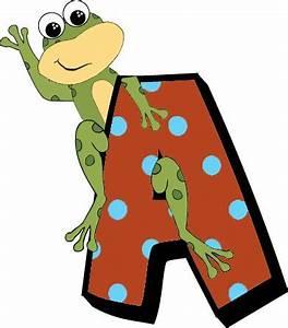 145 best images about clip art alfabet on pinterest With frog alphabet letters