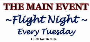Events & Specials – The Main Event