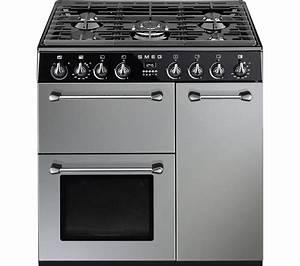 Smeg Online Shop : buy smeg blenheim 90 cm dual fuel range cooker silver black free delivery currys ~ Heinz-duthel.com Haus und Dekorationen