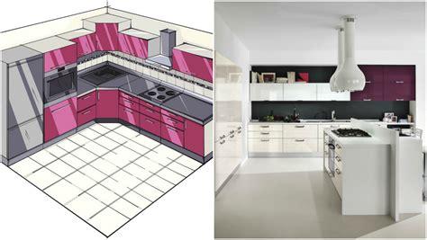 am駭ager une cuisine en l comment aménager une cuisine en l quelques astuces de pro et plusieurs exemples top obsigen