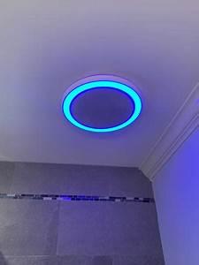 Home Netwerks Decorative White 90 Cfm Bluetooth Stereo