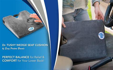 Amazon.com: Dr. Tushy Wedge Seat Cushion, 100% Memory Foam