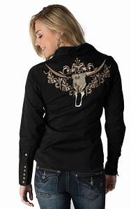 Roper Women's Black with Tan Embroidered from Cavender's
