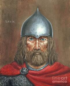 Rurik Painting by Arturas Slapsys