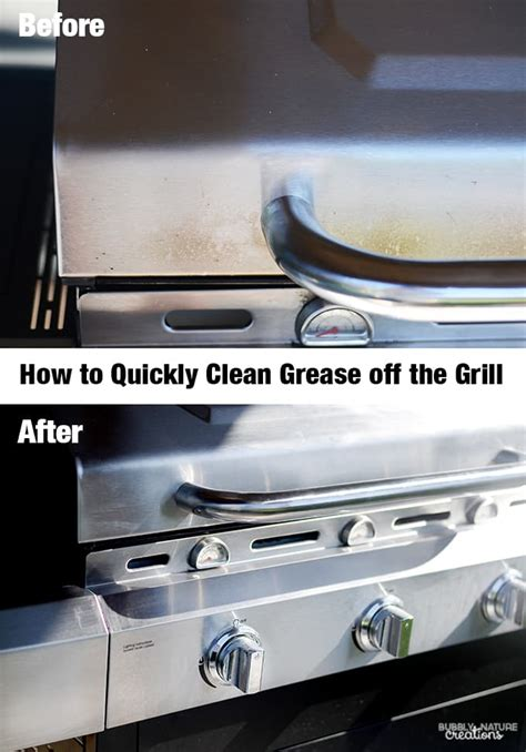 how to clean stainless steel grill how to quickly clean grease off the grill sprinkle some fun