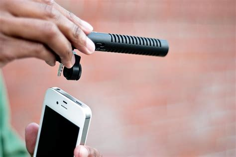 mic for iphone boom mic for iphone gadgetsin