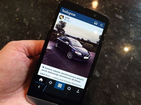 how to get instagram on your blackberry z3 crackberry