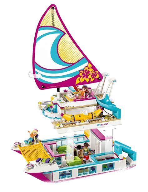 Catamaran Lego Friends by Lego Friends Sunshine Catamaran 41317 Toy At Mighty