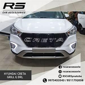 Hyundai Creta 2020 Chrome Grill