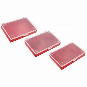 Boite Plastique Petite Taille : jeu de 3 bo tes plastique pour rangement bo te ~ Edinachiropracticcenter.com Idées de Décoration