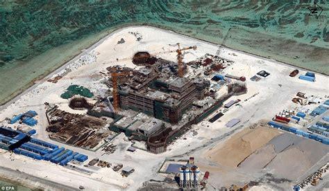 South China Sea Chinese Man-Made Islands