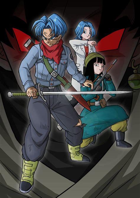 trunksmaibulma  black goku futuro personajes de